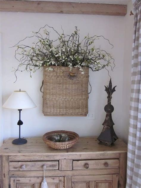 There are 36267 basket wall decor for sale on etsy, and they cost 60,87 $ on average. Basket on the wall by robert   Home Decor and More!   Pinterest