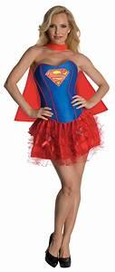 Sexy Supergirl Corset Tutu Costume - Mr. Costumes