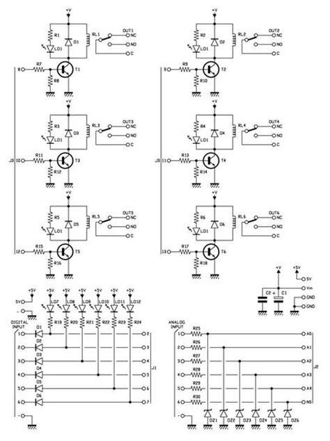 simple relay shield  arduino