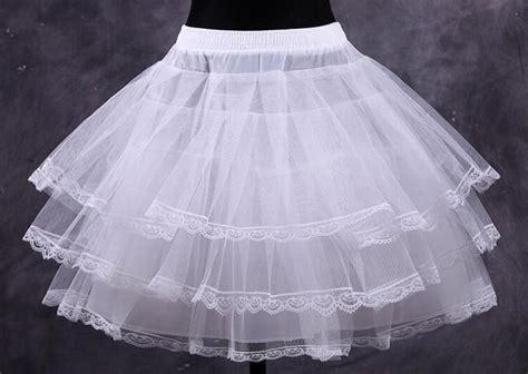 Wholesale Cheap White Short Ball Gown Petticoat Dresses ...