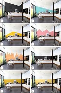 1000 idees sur le theme murs demi peints sur pinterest With deco peinture salon 2 couleurs 17 1000 idees sur le thame stickers cuisine sur pinterest
