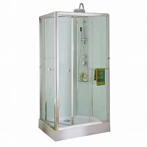 Cabine De Douche Lapeyre : cabine de douche lagon lapeyre mat riaux de construction ~ Premium-room.com Idées de Décoration
