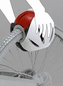 Bicycle Helmet Lock