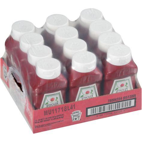 Heinz Tomato Ketchup, 12 ct Casepack, 20 oz Bottles ...