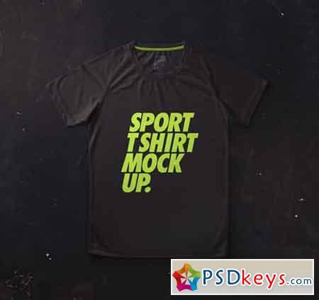 Set of colored shirt mockup in front view and back view for baseball, soccer, football , sportswear or casual wear. Psd Sport T-Shirt Jersey Mockup » Free Download Photoshop ...