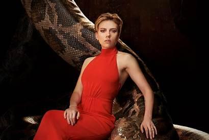 Scarlett Johansson Jungle Wallpapers Snake Actress Blonde