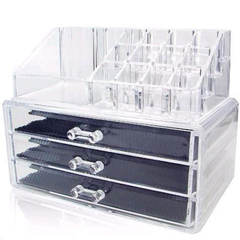 ikee design acrylic makeup organizer jewelry storage