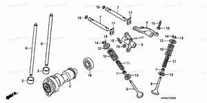 Honda Atv 2007 Oem Parts Diagram For Camshaft