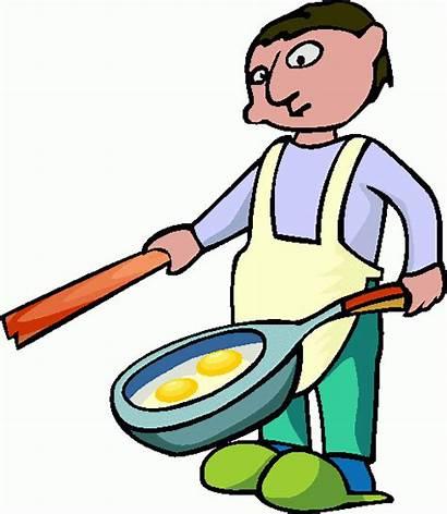 Cooking Clipart Clip Cliparts Koks Beroepen Animaatjes
