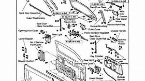 Toyota Door Parts  U0026     1994 Toyota Camry 4 Door Sedan Le