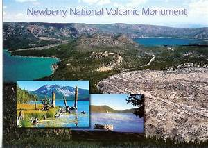 The gallery for --> Newberry National Volcanic Monument Map