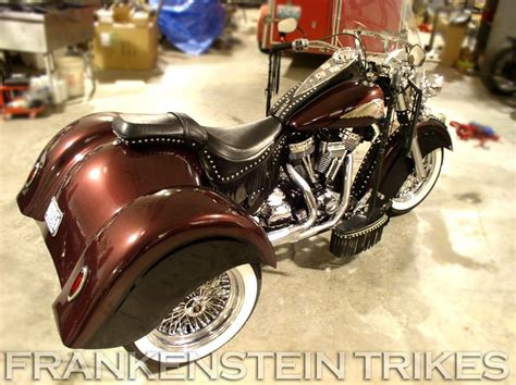 Frankenstein Trike Kit On Indian With Indian Style Body