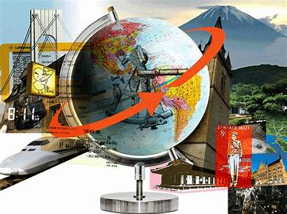 Travel Tours Around Earth Circumventing Times Crossed