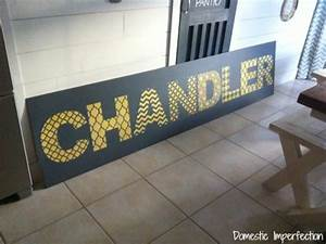 learn how to stencil wall art using alphabet stencils With diy letter stencils for walls