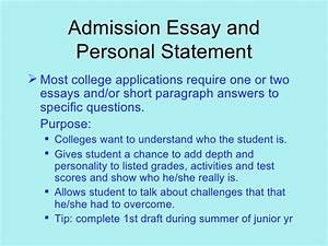 admission essay requirements With college admission requirements