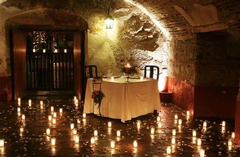 cena romantica fotografia de restaurante el refectorio