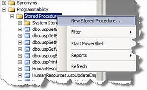 1 sql server management studio tip change defaul templates With sql server stored procedure template
