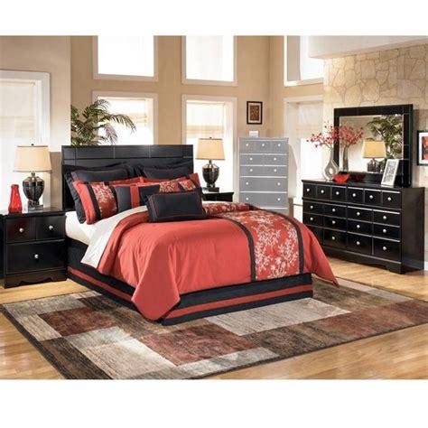 4 bedroom set in black nebraska furniture mart nfm the o jays