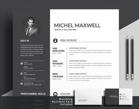 Editable Resume Template Psd by Resume Templates Psd Free Premium Templates