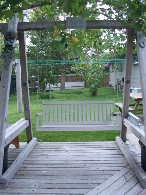 free standing metal porch swing woodworking projects plans