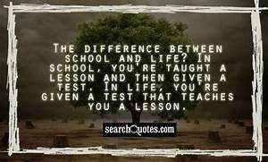 School Ending Q... School Search Quotes