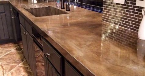 digsdigs minimalist concrete kitchen countertops