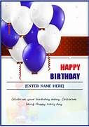 MS Word Creative Design Happy Birthday Cards Document Unique Design For 1st Microsoft Word Birthday Invitation Birthday Invitation Card Birthday Invitation Card 9 Birthday Invitation Templates Excel PDF Formats