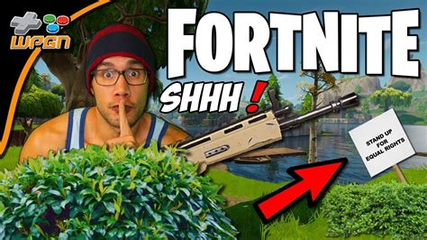 Playing Covertly?  Fortnite Battle Royale  It's Bush
