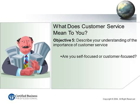 How Would You Describe Customer Service by Cbp Customer Service Series C Introduction Name Work