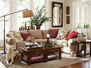 Interior designs impressive pottery barn living room for Decorating living room center table
