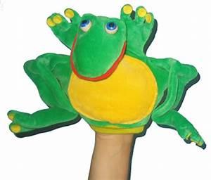 Marionnette à Main : marionnette grenouille marionnette main grenouille grande taille ~ Teatrodelosmanantiales.com Idées de Décoration