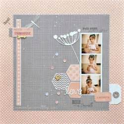 Simple Scrapbook Page Layout