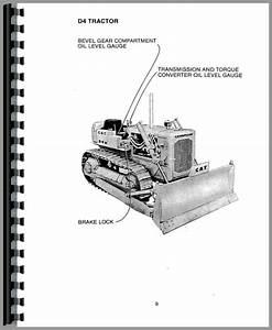 Caterpillar D4d Crawler Operators Manual