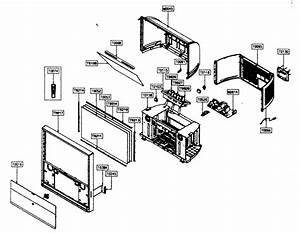 Cabinet Parts Diagram  U0026 Parts List For Model Hcp5241w
