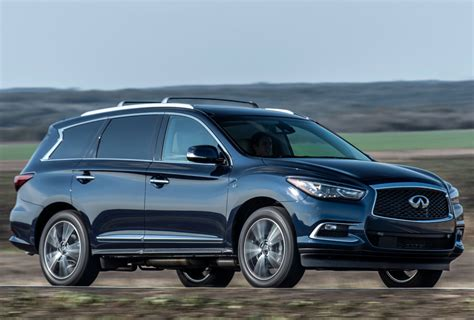2017 Infiniti Qx60 Gets New Engine, New Features
