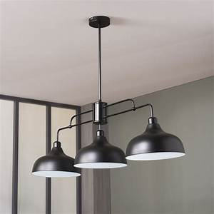 Luminaire Cuisine : eclairage suspension cuisine design luminaire en bois ~ Melissatoandfro.com Idées de Décoration