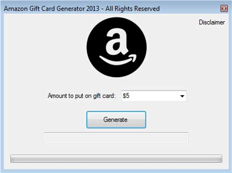 Gift cards range in value from $5 to $500. Amazon Gift Card Generator 2013.Latest.Release: full version free software download ...