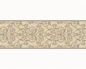 versace home tapeten borte bordure 93547 5 935475 barock With markise balkon mit versace muster tapete