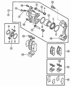 Chrysler Sebring Bolt  Brake Mounting  M8  Front  Engine