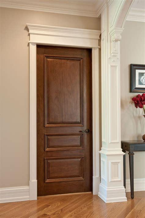 wood interior doors interior door custom single solid wood with walnut