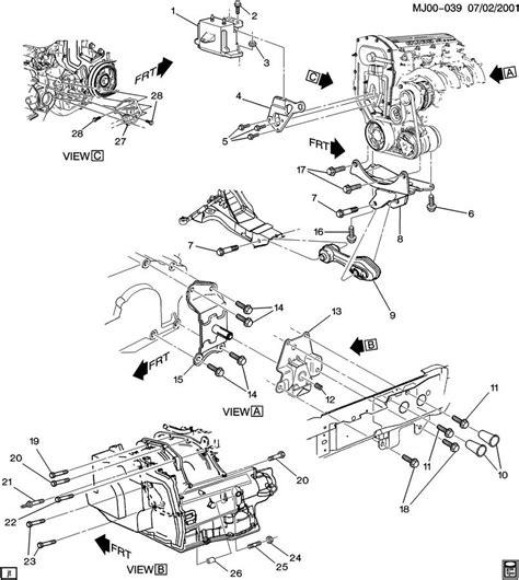 92 Chevy 1500 Transmission Diagram by 4 Engine Diagram Pontiac Sunfire96 Pontiac Sunfire