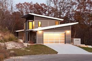 Garage Bauen Kosten : haus mit pultdach bauen satteldach und flachdach vergleich ~ Whattoseeinmadrid.com Haus und Dekorationen