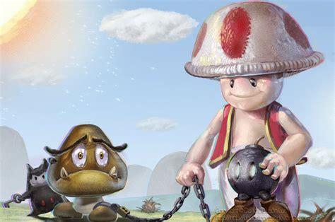 Toad Mario Bros 2 By David De Leon Luis Nintendo By