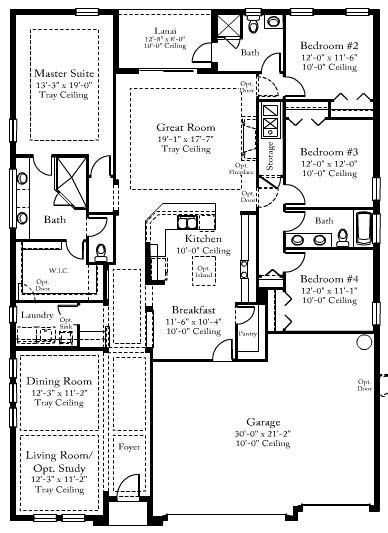 Standard Pacific Homes Floor Plans  Gurus Floor