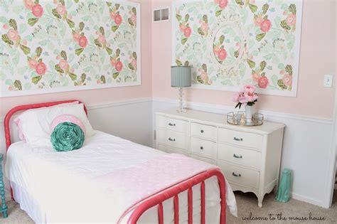inspired bedroom ainsley s anthropologie inspired bedroom welcometothemousehouse com