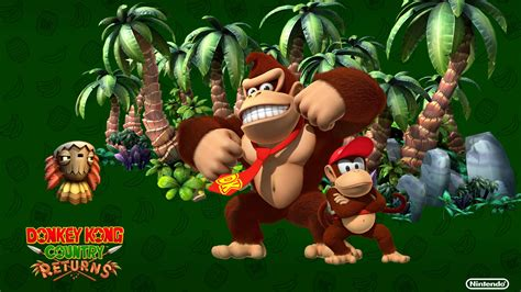 Donkey Kong Country Returns Wallpapers In Hd Gameranx