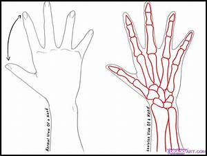 How to Draw Anime Hands, Step by Step, Hands, Anime, Draw ...