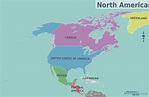 North America – Travel guide at Wikivoyage