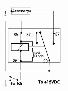 basic wiring customs by ripper With 5 pin relay symbol