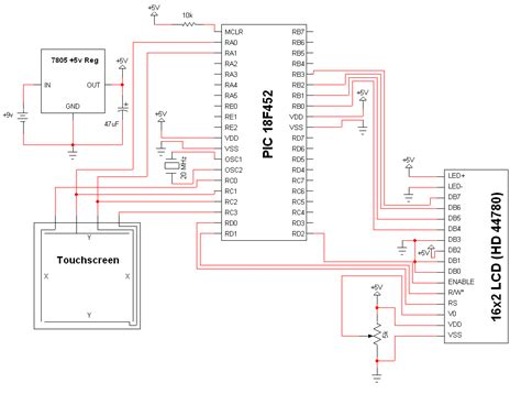 lcd screen wiring diagram lcd free engine image for user